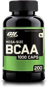 Optimum Nutrition 欧普特蒙 Instantized BCAA支链必需氨基酸胶囊,1000毫克,200粒