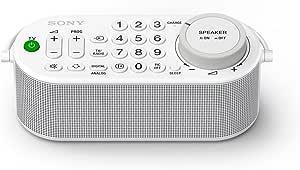 Sony 索尼 SRS-LSR100 便携式电视无线音箱(遥控功能,耳机连接,16小时运行时间,无线连接)