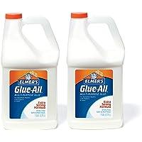 Elmer's 胶水——多用途胶水,强力,1加仑(3.78升),2瓶——非常适合制造粘液