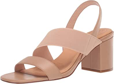 CC Corso Como 女式 Hally2 高跟凉鞋 拿铁白 8.5