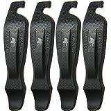 50 支强劲自行车轮胎杆 - 4 只装易握自行车操纵杆 - *佳轮胎更换工具 - 美国制造,设计为一体式存储设备