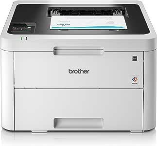 Brother HL-L3230CDW 紧凑型彩色激光打印机,白色