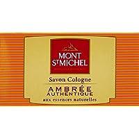 Mont St Michel Savon Cologne 固体香皂,琥珀,正品 – 125克,1套