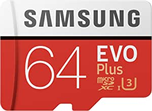 SAMSUNG 三星 64GB TF(MicroSD)存储卡 U3 C10 4K EVO升级版