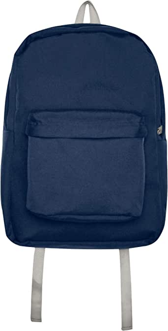 American Apparel 尼龙书包,*蓝/银色,均码