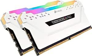 Corsair 海盗船 Vengeance RGB PRO DDR4 灯光增强套件(不带内置内存),发烧级RGB LED发光内存套件-白色