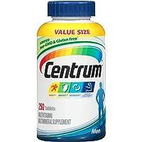 Centrum 善存 男性复合维生素 多种维生素/多种矿物质补充剂,含维生素D3,B族维生素和抗氧化剂-250粒