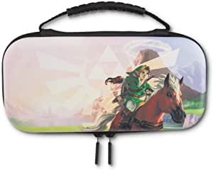 PowerA 任天堂 Switch Lit 旅行保护套套装 Lite Protection Case Kit Hyrule Field 标准