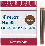 Pilot Namiki IC50 钢笔墨盒 6片装 深褐色