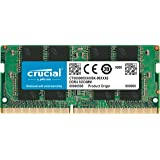 Crucial 4GB Single DDR4 2400 MT/s (PC4-192000) SODIMM 260-Pin Memory CT4G4SFS824A