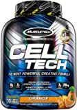 MuscleTech 肌肉科技 Performance Series Cell-Tech 正氮增肌蛋白粉-橙色,6.0磅…