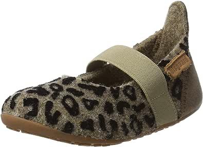 bisgaard 女孩羊毛芭蕾拖鞋