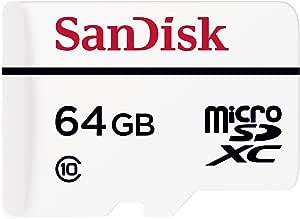 SanDisk 高强度视频监控卡,带适配器SDSDQQ-064G-G46A 64 GB