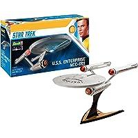 Revell 模型套装 星际迷航 - U.S.S. Enterprise NCC-1701 比例 1:500,星际迷航…