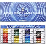 TURNER色彩 专业家用透明水彩颜料 24色套装 WT00524C 5ml