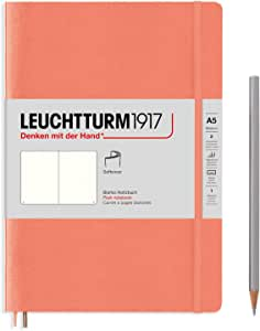 "Leuchtturm1917 笔记本""Bellini"",软封面,A5,空白款"
