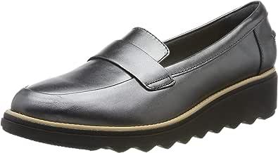 Clarks Sharon Gracie 厚底皮鞋