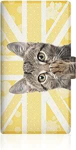 CaseMarket NYAGO GALAXY S5 Active (SC-02G) 翻盖型 原创设计 苗条 保护壳 [ NYAGO 笔记本 可爱 肉球不需要悬挂~ 猫咪 独特 猫~。