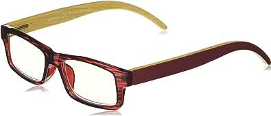 Peepers 中性成人款 Sierra 2365100 矩形老花镜,*红色,1