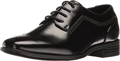 STACY ADAMS Somerton 儿童制服礼服鞋 黑色 3 M US 儿童