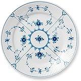 皇家哥本哈根Royal Copenhagen 蓝色水泥・平面 22cm 平铺1101622 1101622