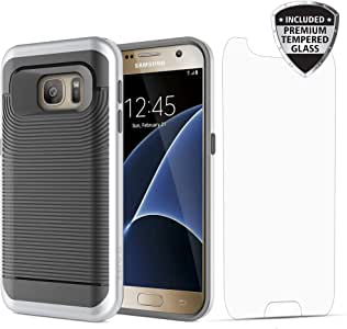 Samsung Galaxy S7 Case 对开式 黑色 黑色/银色