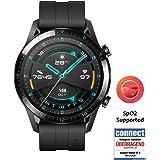 HUAWEI 华为 GT 2 智能手表(46mm全彩AMOLED,SpO2监测,心率测量,音乐播放和蓝牙电话,5ATM防…