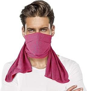 sunland 散热毛巾新款冰面料毛巾适用于运动瑜珈锻炼健身旅行露营 ( 2包 )