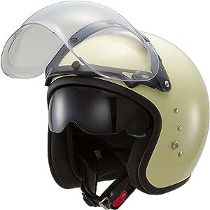 OWLTT380 混合小型喷气头盔 フリーサイズ 白色 TT380