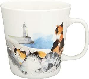 岛猫 马克杯 向日葵 サイズ:φ9×h9cm -