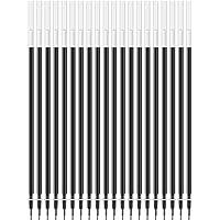 DeLi得力 6901 半针管中性笔芯(20支/盒 黑色)