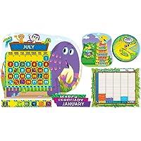Scholastic Classroom Resources Jingle Jungle Calendar Bulletin Board (SC553071)