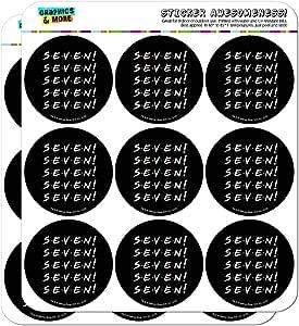 """朋友七个规划日历剪贴簿手工贴纸 透明 18 2"""" Stickers SCRAP.CL.STICK02.WBGAM031.Z005083_8"""