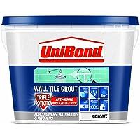 UniBond 三重保护防霉壁瓷砖灌浆 - 1.38 千克,白色 白色 1.38KG 1617426