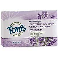 Tom's of Maine 天然*皂 Lavender Tea Tree 5 Ounce, 6 Count