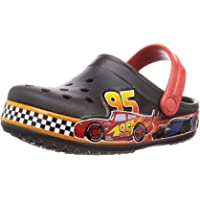Crocs 迪士尼和皮克斯汽车总动员儿童洞鞋 幼儿、男孩、女孩