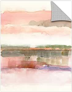 "Tremont Hill Mike Schick ""线条与颜色的影响""可移除壁画 粉红色 14X18"" 2msc016a1418p"