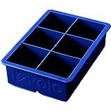 Tovolo - 硅树脂Cube国王冰格层云蓝色