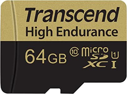 Transcend 高耐久 microSDHC卡系列TS64GUSDXC10V 64GB