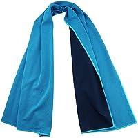 Romix 运动凉爽毛巾,酷炫保龄球健身瑜伽毛巾 - 30.48 x 91.44 厘米超细纤维柔软冰凉毛巾,适合跑步、徒…