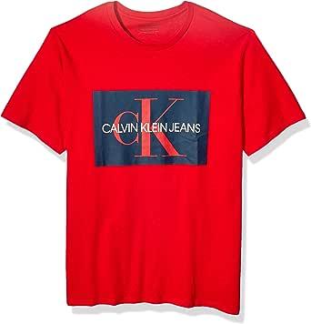 Calvin Klein 卡尔文·克莱恩 男式 短袖 Monogram Logo T恤