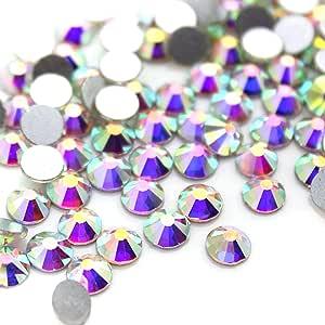 水晶 AB/Crystal FlatBack 玻璃水钻胶状修饰 Crystal Ab ss10 (2.7mm) 1440 pcs 2088
