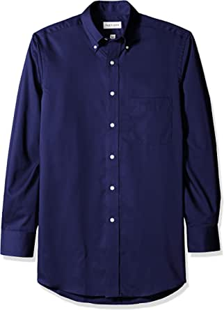 Van heusen 男式长袖纽扣斜纹衬衫–颜色