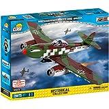 COBI 5543 梅塞施密特Me262A战斗机 拼插玩具,多色