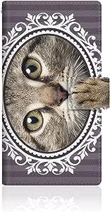 CaseMarket × nyago 【翻盖式】 AU Xperia Z1( Sol ) 超薄壳针脚模型 [ nyago 笔记本 ボタニカルリース 肉球 ペロペロ 舔 . . .–ピクシーボブ - ] Sol vng2s2659Sony