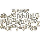"""Sizzix Bigz XL Die By Tim Holtz 6""""X13.75""""-Word Play Alphabet…"""