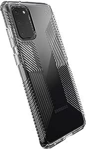 Speck Products 兼容手机壳适用于三星 Galaxy S20+, Presidio Perfect 手机壳136375-5085 Clear Grip/Clear