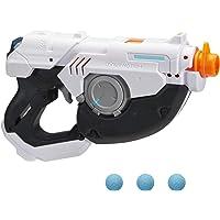 NERF Rival Overwatch Tracer 玩具枪 - 旋转重新装配 3 轮容量 - 包括 3 枚官方 Ri…