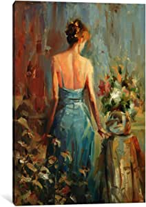 """iCanvasART Thoughtful Canvas Print by Steve Henderson, 26"""" x 18""""/1.5"""" Deep"""