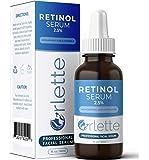 Orlette 视黄醇精华液 2.5% - 专业级护肤 - 维生素 A 和 E,透明质酸 - *、保湿皮肤和面部保湿霜 - 皱纹、*斑、色素沉淀、净化剂 - 30ml